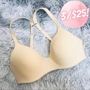 💖3/$25💖 Hanes Wire-free Nude Bra Women Size 34C